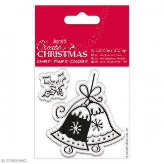 Tampon Clear - Cloches de Noël - 2 pcs