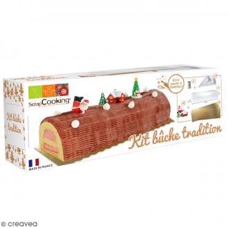 Kit bûche tradition - 9 pcs