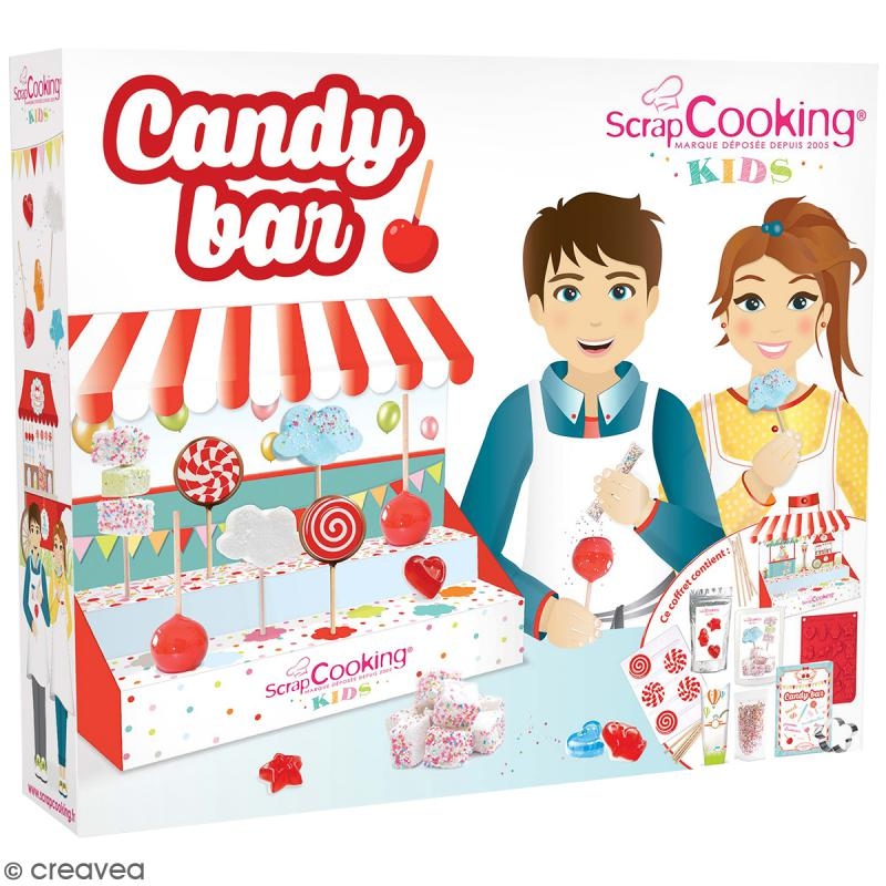 coffret candy bar scrapcooking coffret cuisine cr ative creavea. Black Bedroom Furniture Sets. Home Design Ideas