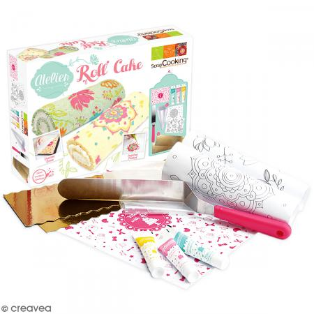Coffret atelier roll cake scrapcooking coffret cuisine cr ative creavea - Coffret cuisine creative ...