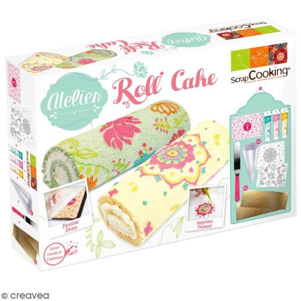 Coffret Atelier Roll Cake ScrapCooking - Photo n°1