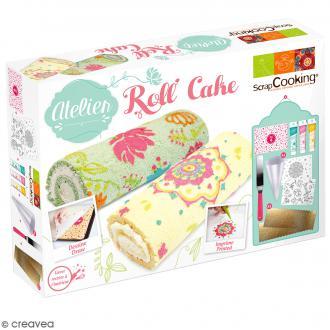 Coffret Atelier Roll Cake ScrapCooking