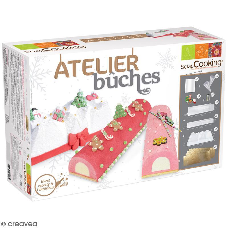 Coffret atelier b ches scrapcooking coffret cuisine cr ative creavea - Coffret cuisine creative ...