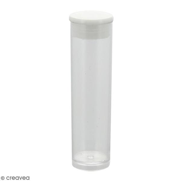 Tube 5,5 cm pour perles Miyuki - Photo n°1