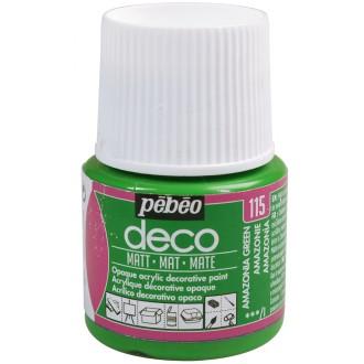 Peinture P.BO Déco 45 ml - mat - Vert Amazonie