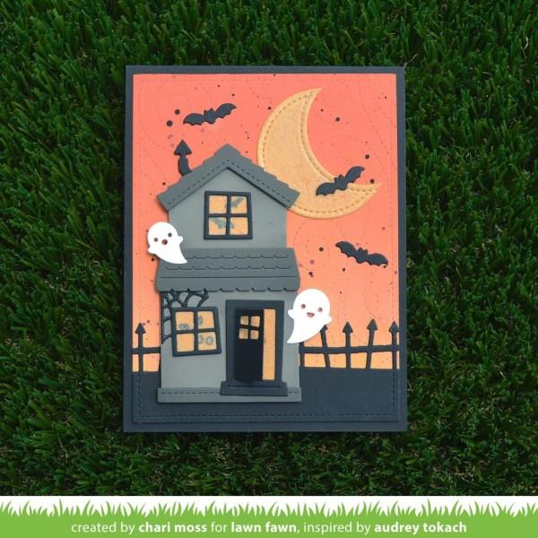 Tampon transparent Lawn Fawn - Tiny Halloween - 13 pcs - Photo n°2
