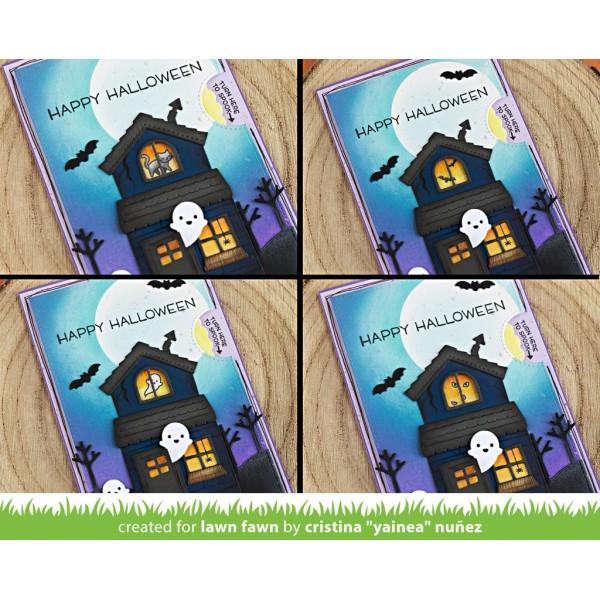 Tampon transparent Lawn Fawn - Tiny Halloween - 13 pcs - Photo n°4