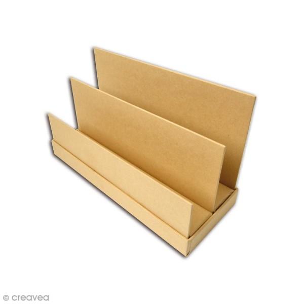 Range-courrier à décorer - 25,5 x 14,4 cm - Photo n°1