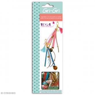 Kit créatif Gri-Gri Doré rose et bleu - 2 modèles à reproduire