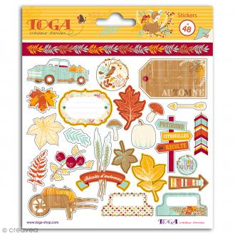 Stickers Toga Graines de potiron - 48 pcs