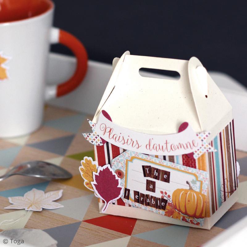 Die cut Toga Graines de potiron - 60 pcs - Photo n°5