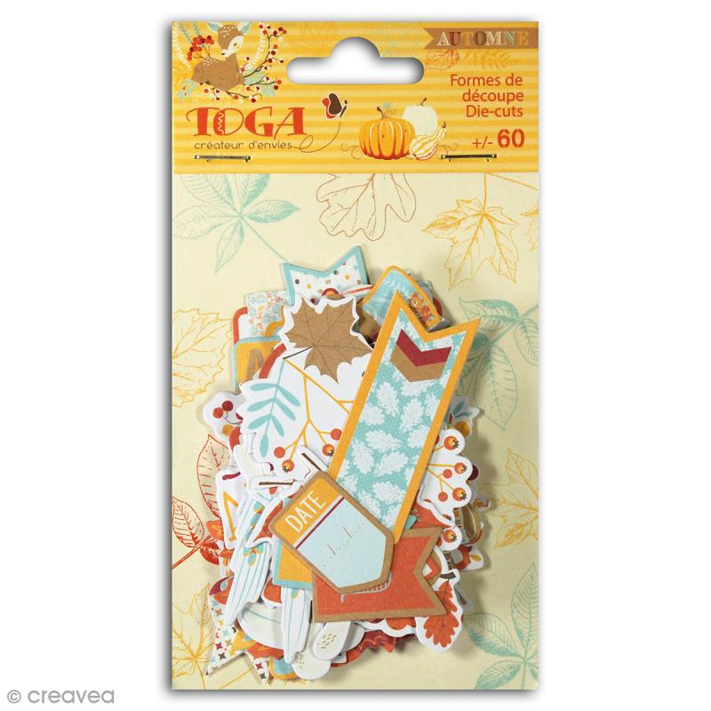 Die cut Toga Graines de potiron - 60 pcs - Photo n°1