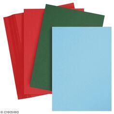 Papier cartonné A4 - Paquets de 100 feuilles de 180 g