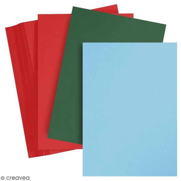 Papier cartonné A4 - Paquets de 100 feuilles de 180 g - Photo n°1