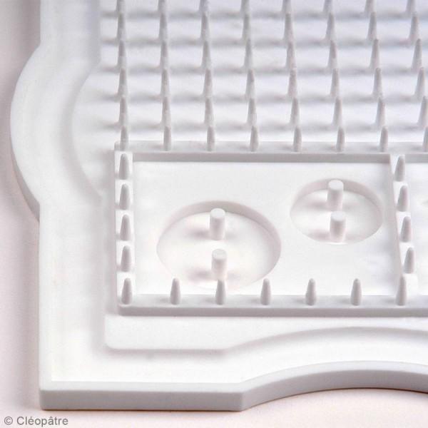 Resin'Pad - Plan de travail en silicone pour la résine - 30 x 20 cm - Photo n°2