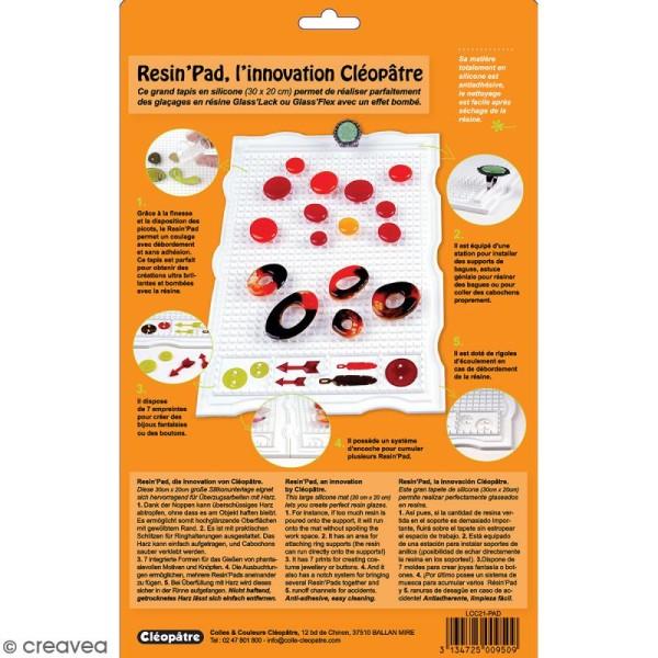 Resin'Pad - Plan de travail en silicone pour la résine - 30 x 20 cm - Photo n°6