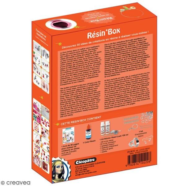 Coffret Résin' Box Résine Glass' Lack - Pour bijoux et déco - Photo n°6