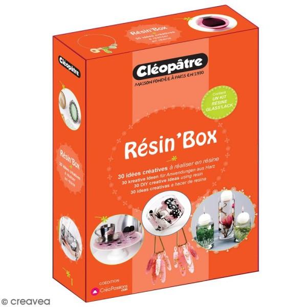 Coffret Résin' Box Résine Glass' Lack - Pour bijoux et déco - Photo n°1