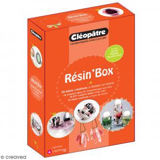 Coffret Résin' Box Résine Glass' Lack - Pour bijoux et déco