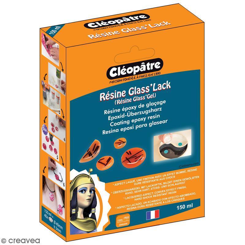 Coffret Résine Glass'Lack 150 ml - Résine et accessoires - Photo n°1