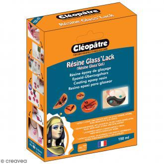 Coffret Résine Glass'Lack 150 ml - Résine et accessoires