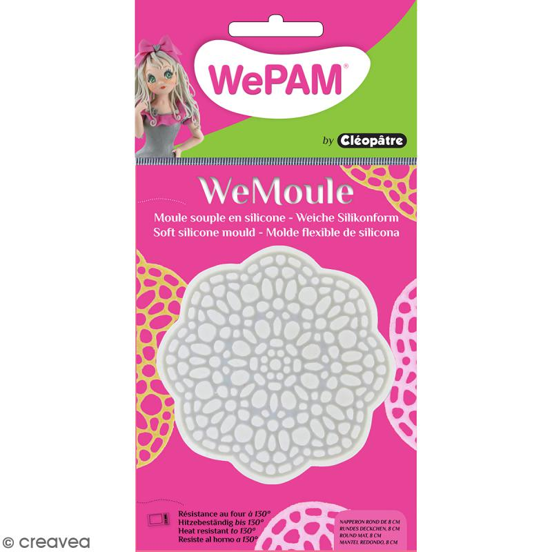 Moule silicone WePam Napperon Dentelle - Photo n°1