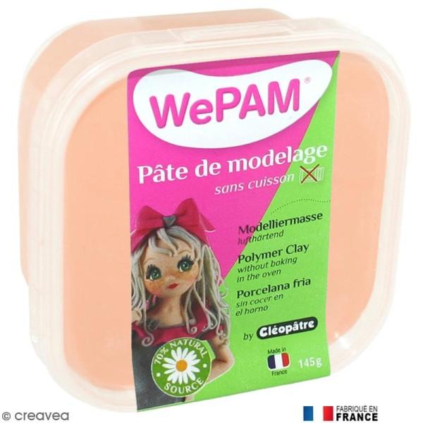 Porcelaine froide à modeler WePAM Rose Pêche 145 g - Photo n°1