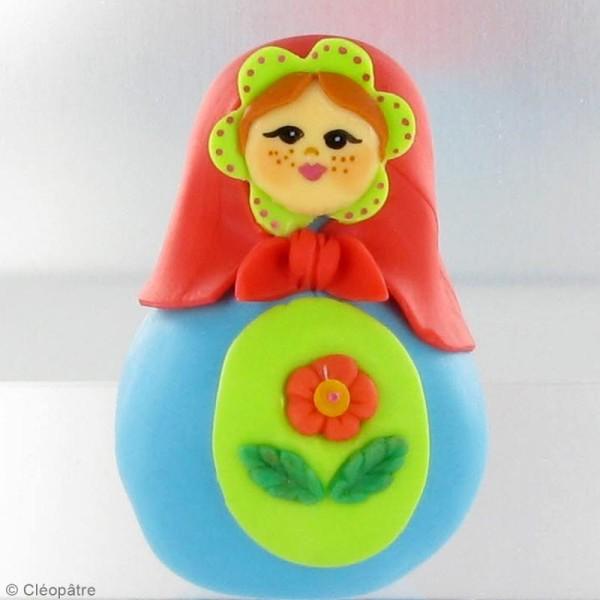 Porcelaine froide à modeler WePAM Violet Lavande 145 g - Photo n°3