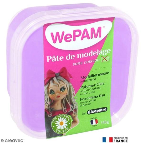 Porcelaine froide à modeler WePAM Violet Lavande 145 g - Photo n°1