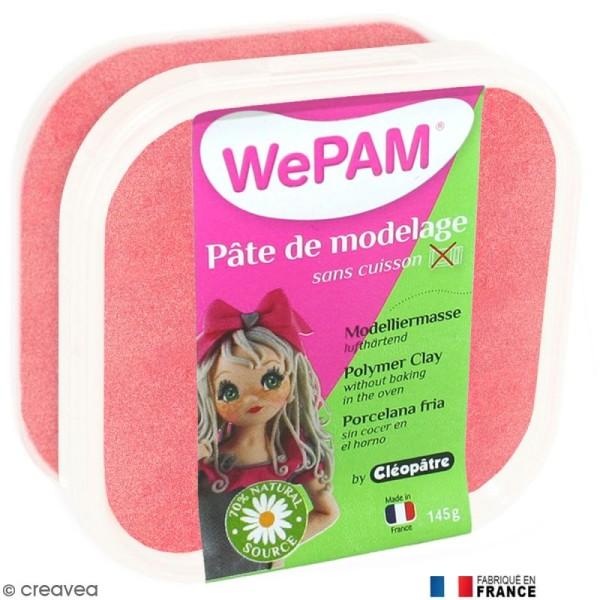 Porcelaine froide à modeler WePAM Rouge nacré 145 g - Photo n°1