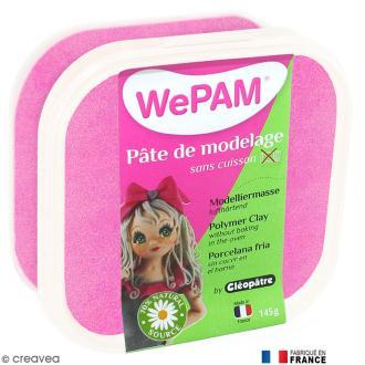 Porcelaine froide à modeler WePAM Rose nacré 145 g
