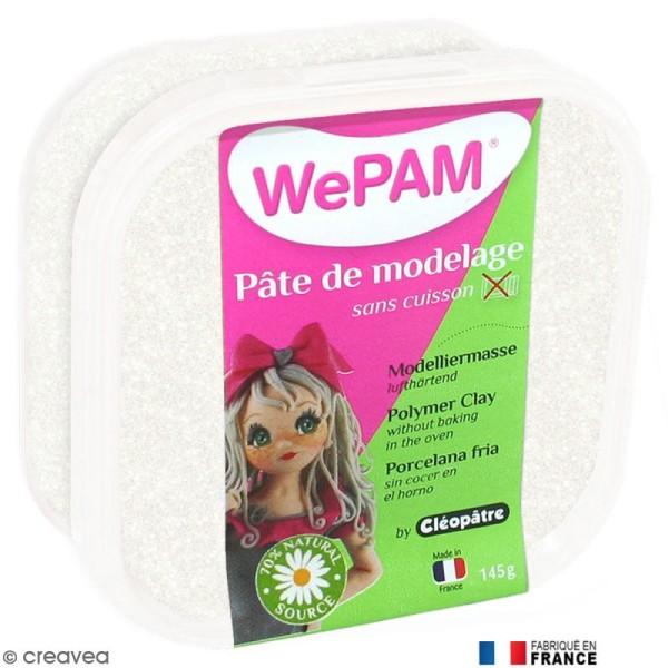Porcelaine froide à modeler WePAM Blanc Néon 145 g - Photo n°1
