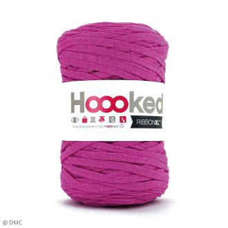 Ribbon XL DMC - Pelote Jersey Rose fuchsia - 120 m