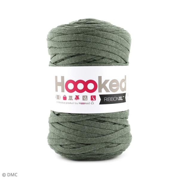 Ribbon XL DMC - Pelote Jersey Vert kaki - 120 m - Photo n°1