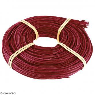 Moelle de rotin Rouge 2 mm - 125 g