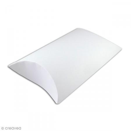 grande bo te cadeau blanche 2 pillow boxes de 23 x 16 cm boite cadeau d corer creavea. Black Bedroom Furniture Sets. Home Design Ideas