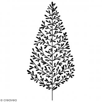 Tampon Bois Artemio - Sapin - 7,5 x 3,5 cm