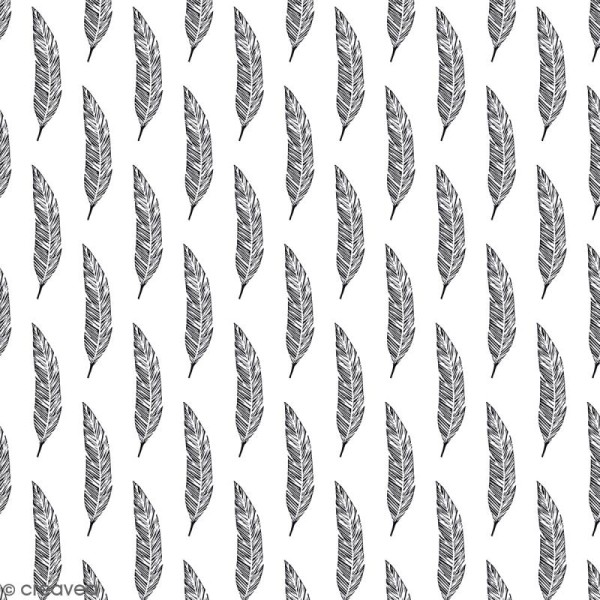 Papier Scrapbooking Artemio - Black & White - 30,5 x 30,5 cm - 40 feuilles - Photo n°2