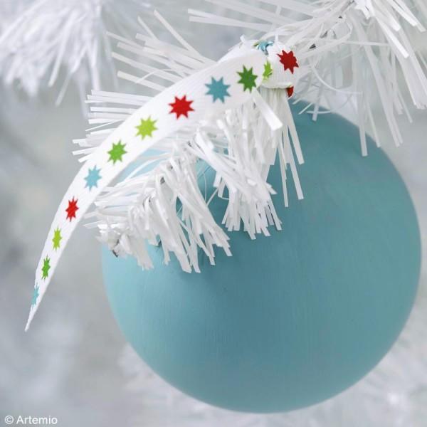 Rubans Artemio - Noël classique - 1 cm x 1 m - 6 pcs - Photo n°2