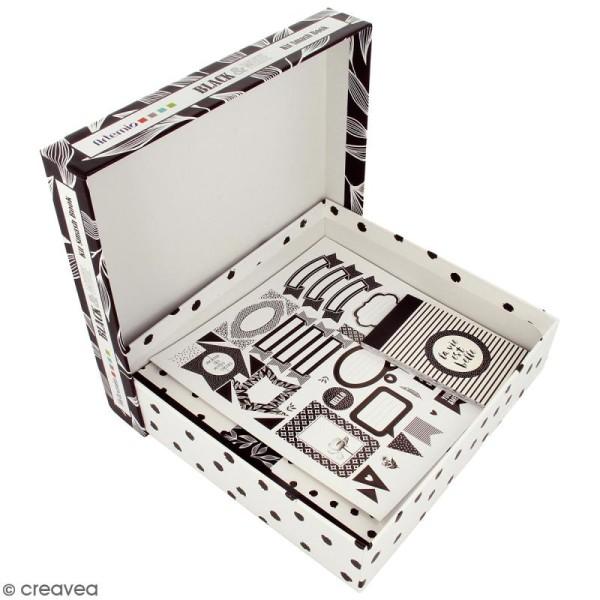 Kit Smash Book Black & White - Photo n°2