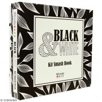Kit Smash Book Black & White