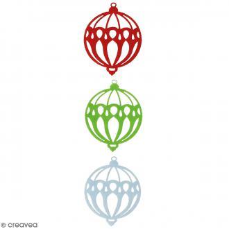 Formes en feutrine - Boules Rondes - 3 pcs