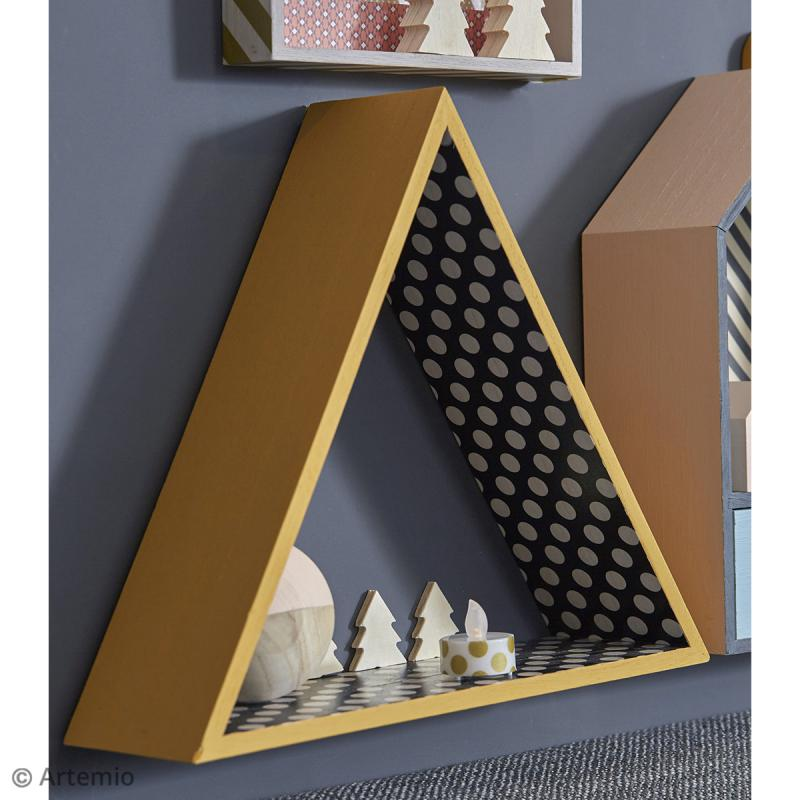 Etagère Triangle - 30 x 35 cm - Photo n°2