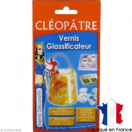 Vernis Glassificateur Cléopâtre 100 gr avec fiche conseils - Photo n°1