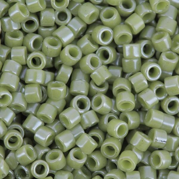 Perles Miyuki Delica 11/0 - DB0263 - Opaque Cactus Luster - 5g - Photo n°1