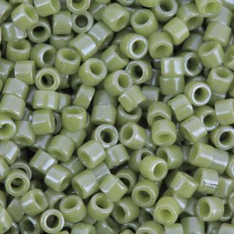 Perles Miyuki Delica 11/0 - DB0263 - Opaque Cactus Luster - 5g