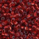 Perles Miyuki Delica 11/0 - DB0602 - Silver Lined Red Dyed - 5g - Photo n°1