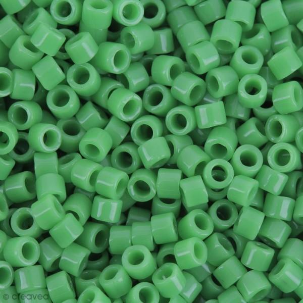 Perles Miyuki Delica 11/0 - DB0724 - Opaque Pea Green - 5g - Photo n°1