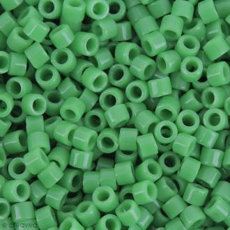 Perles Miyuki Delica 11/0 - DB0724 - Opaque Pea Green - 5g