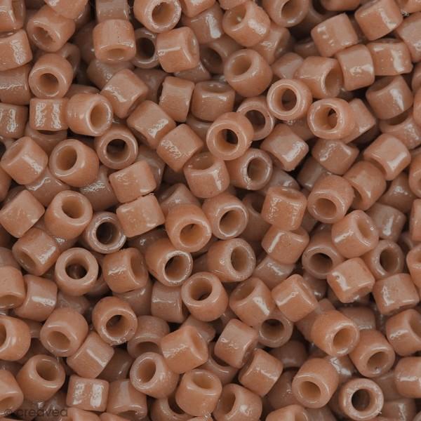 Perles Miyuki Delica 11/0 - DB2107 - Duracoat Opaque Cedar - 5g - Photo n°1
